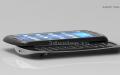 Трехмерная модель сотового телефона Sony Ericsson Xperia Pro.